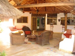 4 Bedroom Villa with 2 bedroom guest house only 200 meters from gorgeous Las Terrenas